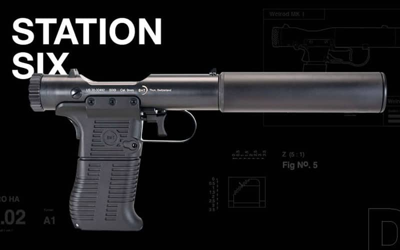B&T Station SIX-9 Pistol